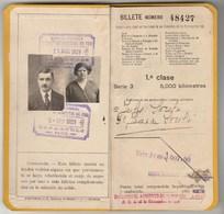 Season Ticket * Billete Kilométrico * 1929 - Europe