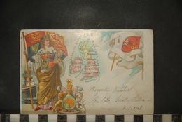 CP, ILLUSTRATEURS - RAPHAEL TUCK, GRANDE BRETAGNE, TRES RARE, 1902 - Tuck, Raphael