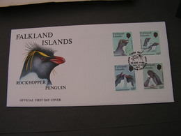 Penguin FDC 1986 - Falkland Islands