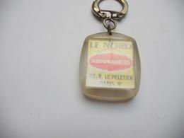 Beau Porte Clés , Assurances Le Nord , Paris 9e - Key-rings