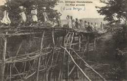 Afrique Occidentale Un Pont Primitif (Haut Niger) RV - Niger