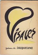 """Visages, De Jacquelyne Lepaul. Exemplaire De Gilbert Lamireau, Poète Et Fondateur De La Revue """"Signes Des Temps"""". - Poetry"""