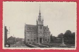 Courcelles - Hôtel De Ville Et Monument ( Voir Verso ) - Courcelles