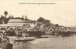 DOUALA (Cameroun) Course De Pirogues RV - Cameroon