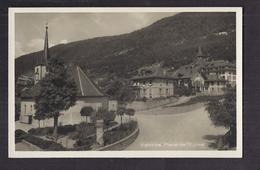 CPA SUISSE - VALLORBE - Place De L'Eglise - TB PLAN CENTRE VILLAGE + Détails Habitations - VD Vaud