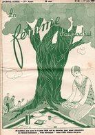 La Femme D'aujourd'hui - Suisse Romande - Revue Mensuelle Féminine No 58 - 1er Juin 1928 - Lausanne - 28 Pages - Mode - Books, Magazines, Comics