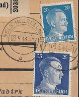 Luxembourg - 3 Germany Luxemburg WW2 Occupation Paketkarte (Parcel Cards) - Fels (Moselland), Ettelbruck, Esch (Sauer) - 1940-1944 Occupation Allemande
