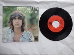 EP 45 T YVES DUTEIL  LABEL  EMI 2C008-14607  PRENDRE UN ENFANT PAR LA MAIN - Disco & Pop