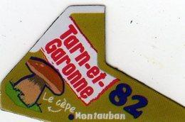 Magnets Magnet Le Gaulois Departement France 82 Tarn Et Garonne - Tourism