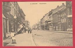 St. Ghislain - Hauptstasse / Route Principale ... Carte Allemande - Feldpost 1918 ( Voir Verso ) - Saint-Ghislain