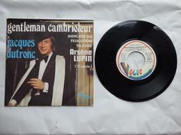 EP 45 TJACQUES DUTRONC   LABEL VOGUE 45.V.3030  GENTLEMAN CAMBRIOLEUR - Disco & Pop