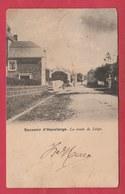 Havelange - La Route De Liège - 1903  ( Voir Verso ) - Havelange