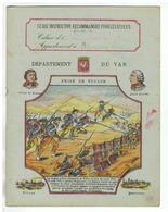 JM20.04 / PROTEGE- CAHIERS - /  DEPARTEMENT DU VAR / PRISE DE TOULON - Book Covers