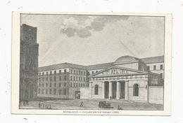 Cp , 75 , PARIS , HÔTEL DIEU , Façade De CLAVEREAU , 1806 ,dos Simple , Vierge - Altri Monumenti, Edifici