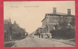 Herseaux - Rue De La Citadelle ... Carte Animée - 1910  ( Voir Verso ) - Mouscron - Moeskroen