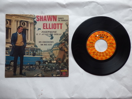 EP 45 T SHAWN ELLIOTT CHANTE EN FRANCAIS   LABEL ROULETTE VREX 65043 TOM POUCE BLUES - Disco & Pop