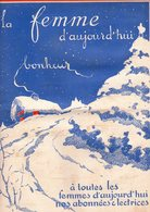 La Femme D'aujourd'hui - Suisse Romande - Revue Bimensuelle Féminine No 48 - 1er Janvier 1928 - Lausanne - 24 Pages-Mode - Books, Magazines, Comics