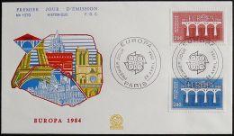 FRANKREICH 1984 Mi-Nr. 2441/42 CEPT FDC - Europa-CEPT