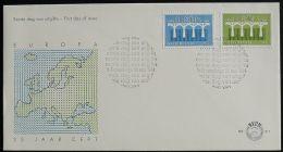 NIEDERLANDE 1984 Mi-Nr. 1251/52 CEPT FDC - Europa-CEPT