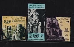 Egypt 1965, Nubia Complete Set, Vfu - Ägypten