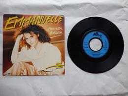 EP 45 T EMMANUELLE LABEL AZ 8850657  PREMIER BAISER - Disco & Pop