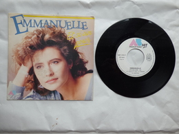 EP 45 T EMMANUELLE LABEL AZ 887372  ET SI UN JOUR - Disco & Pop