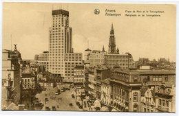 CPA - Carte Postale - Belgique - Anvers -  Place De Meir Et Le Torengebouw - 1933 (CP2121) - Antwerpen
