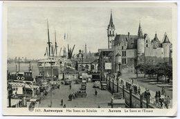 CPA - Carte Postale - Belgique - Anvers -  Le Steen Et L'Escaut (CP2124) - Antwerpen