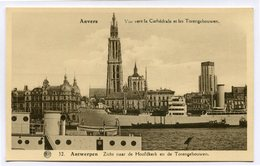 CPA - Carte Postale - Belgique - Anvers -  Vue Vers La Cathédrale Et Les Torengebouwen  (CP2126) - Antwerpen
