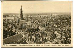 CPA - Carte Postale - Belgique - Anvers -  Cathédrale Et Vue Vers L'Escaut  (CP2127) - Antwerpen