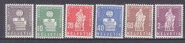 PGL BC072 - SUISSE SWITZERLAND SERVICE Yv N°399/404 ** - Service