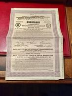 Cie  Du  Chemin  De  Fer  De  MOSCOU - KAZAN   ------   Obligations  De  187,50 Roubles - Russia