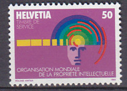 PGL BC114 - SUISSE SWITZERLAND SERVICE Yv N°463 ** - Service