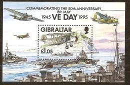 Gibraltar 1995 Yvertnr Bloc 20 ** MNH  Cote 6,00 Euro  Boten Ships - Gibraltar