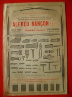 PUB 1892 - Limes à Albert 80; Liqueurs Rivoire à Marseille 13 BdR - Advertising