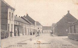 Borsbeek - De Antwerpschestraat (met Animatie) - Borsbeek