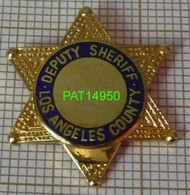 POLICE AMERICAINE   DEPUTY SHERIFF  LOS ANGELES CITY   ETOILE - Police