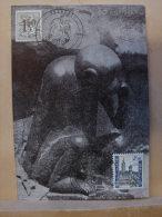 CP. 437. Oblitération Ducasse De Mons 1970 Avec Petit Singe - Mons