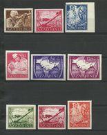 INDIA LEGION Feldpost AZAD HIND NATIONALES INDIEN I-VI+VIII-X/B**POSTFRISCH 48EUR - Occupation 1938-45