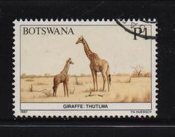 Botswana 1987, Giraffe, Minr 419, Vfu. Cv 5,50 Euro - Botswana (1966-...)