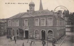 CPA - Ry - Hôtel De Ville - France