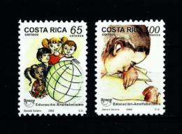 Costa Rica  Nº Yvert  704/5  En Nuevo - Costa Rica