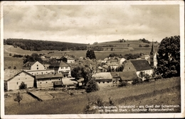 Cp Schamhaupten Altmannstein Oberbayern, Brauerei Stark, Teilansicht - Germany