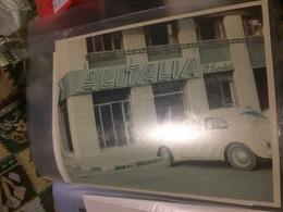 ALITALIA FOTOGRAFIA ORIGINALE ANNI 50 - Altre Collezioni