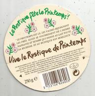étiquette Fromage , Dessus De Boite , Vive Le Rustique De Printemps , Lutin - Ideval , 61 ,PACE - Cheese