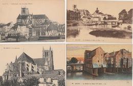 18 / 4 / 385  -  LOT  DE  19 CPA & 1 CPSM DE  MEAUX  ( 77 ) Toutes Scanées - Cartes Postales