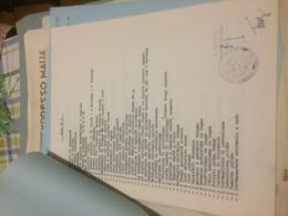 FOGLIO TIMBRO REPUBBLICA ITALIANA ANNI 60 - Altre Collezioni