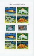Aruba 2010-Mollusques-YT 512/5*** MNH La Feuille De 2 Séries - Meereswelt