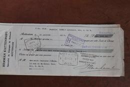 ROTTERDAM       -    HERMAN  KATTENBURG        1926     BILLET  A  ORDRE - Netherlands