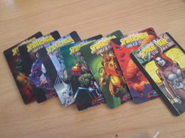 LOT DE 7 CARTES TRADING CARDS ? MARVEL SPIDERMAN De 2007 - Trading Cards